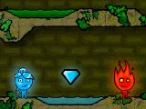 Fireboy and Wathergirl in the Forest Temple