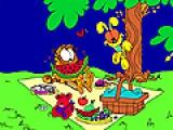 Garfield online coloring