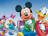 Mickey School Online Coloring