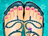 Beach Sandal Pedicure