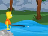 Bart Simpson Jumping