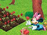 Micky Planting Flowers