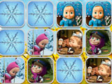Masha and Bear Memory Game