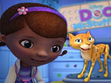 Doc Mcstuffins and Rita