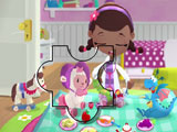 Doc Mcstuffins Playing