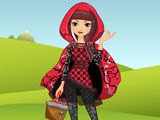Cerise Hood Dress Up