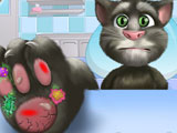 Talking Tom Foot Doctor