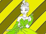 Princess Tiana Coloring