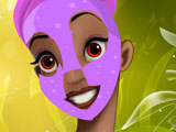 Tiana Princess and the Frog Facial Makeover