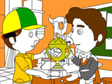Handy Manny Coloring