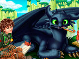 How to train your Dragon 2 Toothless Flu