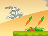 Bugs Bunny Hopping Carrot Hunt