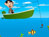 Mr Bean Fishing