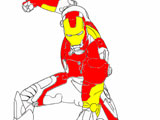 Iron Man Coloring