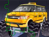 Monster Taxi Jigsaw