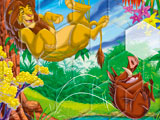 Sort My Tiles Lion King Timon and Pumba