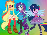 Equestria Girls All Characters 2 Jigsaw Puzzle