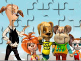 Barboskiny puzzle Family