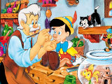 Pinocchio Online Coloring Page