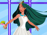 Pocahontas Wedding Dress Up