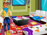 Clawd Wolf Messy Room Cleaning