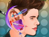 Justin Bieber Ear Infection