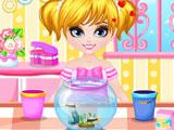 Cute Baby Girl Spring