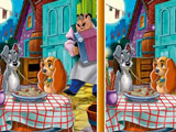 Lady And The Tramp Spot The Difference