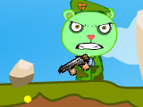 Happy Tree Friends Flippy Attack