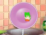 Liza washing dishes