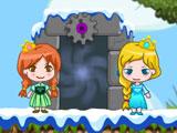 Frozen Magic And Fire Magic