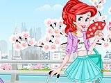 Ariel Flies To Tokyo