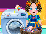 Daria Washing Clothes