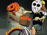 Newspaper Boy: Halloween