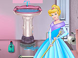 Cinderella Bathroom Makeover