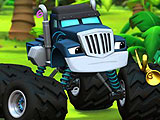 Blaze and the Monster Machines Hidden Numbers