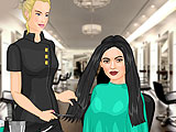 Kendall Jenner Friends Hair Salon