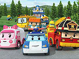 Robocar Poli Find the Differences