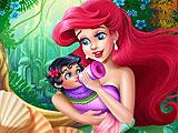 Ariel Baby Feeding