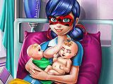 Ladybug Twins Birth
