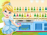 Baby Cinderella Kitchen Clean