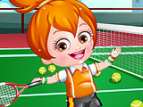 Baby Hazel Tennis Player