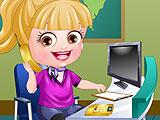 Baby Hazel Receptionist