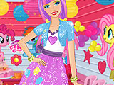 Barbie Meets Equestria Girls
