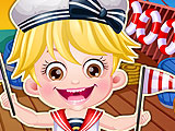 Baby Hazel Sailor