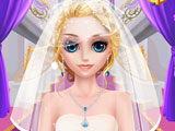 Princess Lisa in the wedding salons