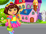 Baby Dora Goes To School