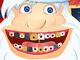 Santa Claus At The Dentist