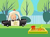 Boss Baby Backyard Racer