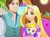 Rapunzel Birth A NewBorn Baby
